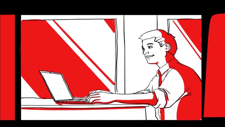 Gate of Mazovia – video/animation Whiteboard