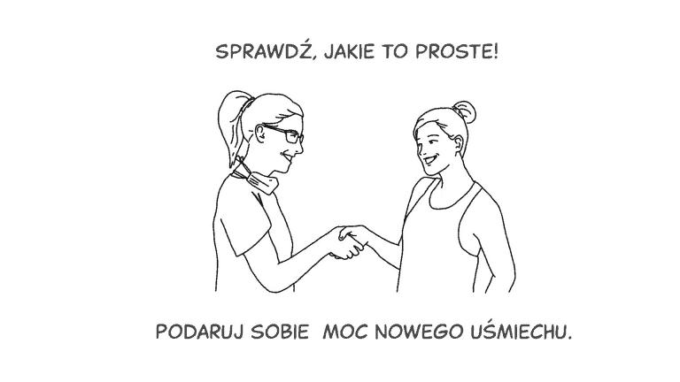 (Polski) Whiteboard dla centrum stomatologicznego