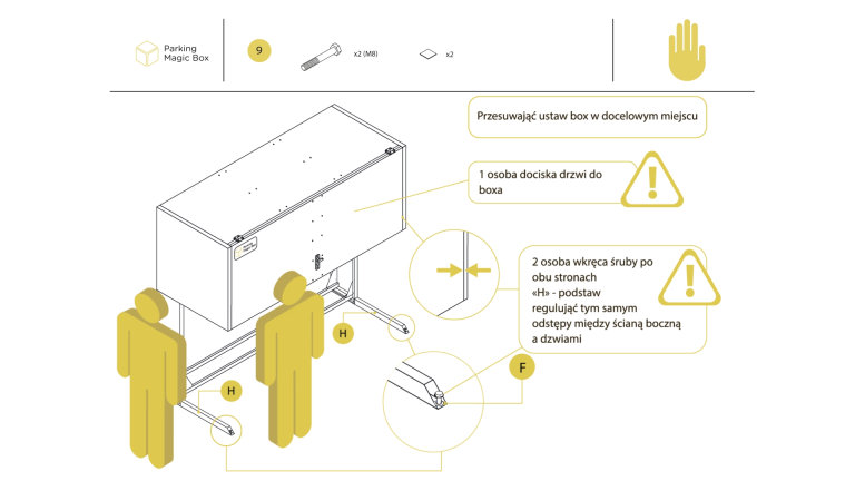 Animowana instrukcja montażu szafy garażowej