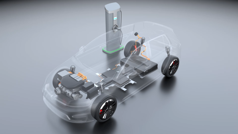 Animacja 3D – ładowanie samochodu