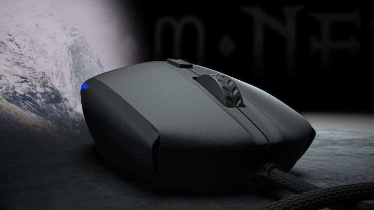 Animacja produktowa 3D – mysz gamingowa