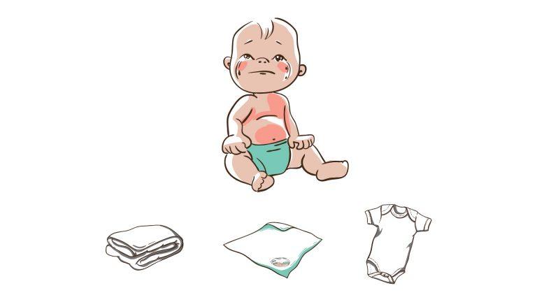 (Polski) Whiteboard prezentujący otulacze dla niemowląt