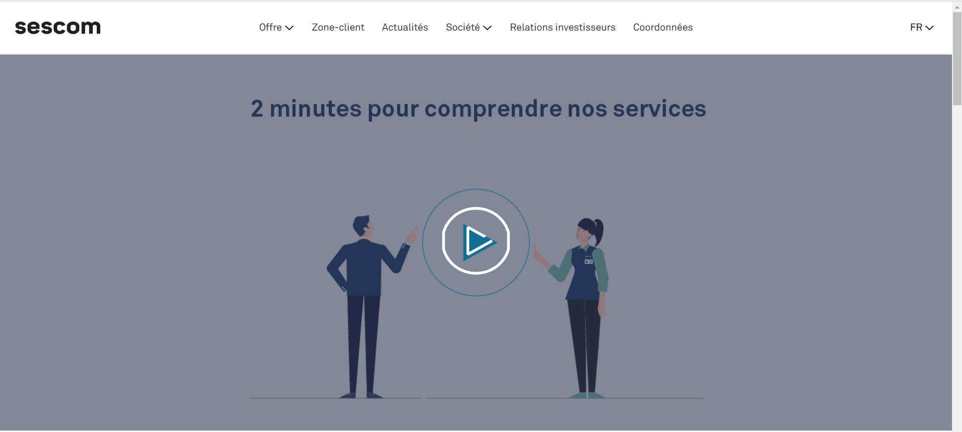 Zrzut Ekranu Animacja Sescom FR